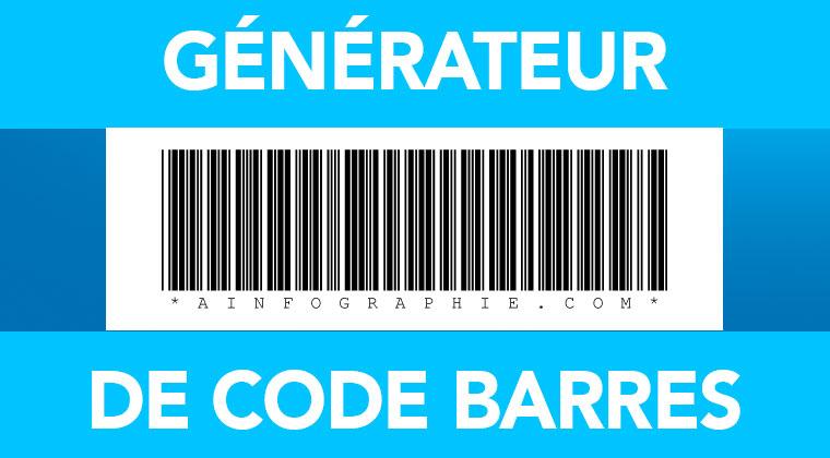 Générateur de codes à barres vectoriels gratuit : vos codes barres en svg pour impression