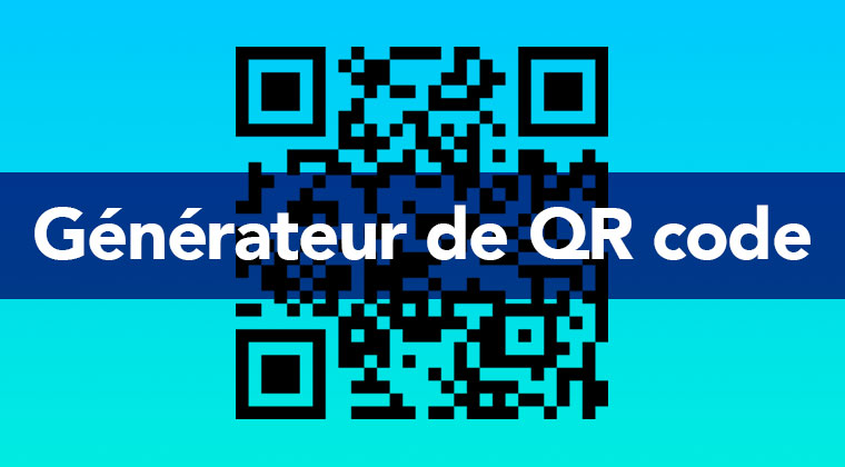 Générateur de QR codes vectoriels gratuit pour impression : votre QR code en svg gratuit