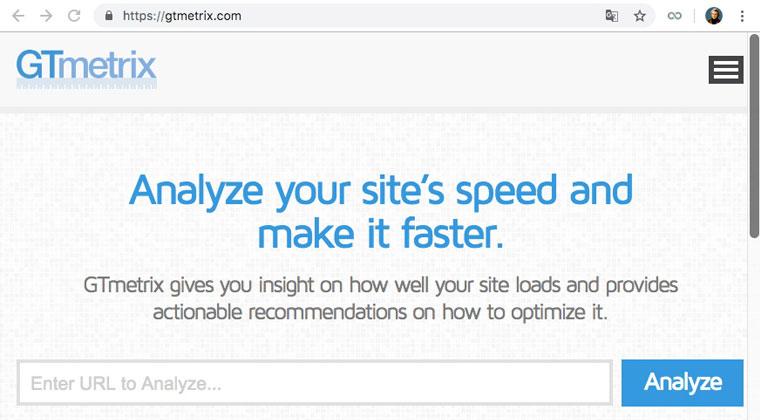 GT Metrix : optimiser la vitesse de chargement des pages d'un site Internet, optimiser les performances d'un site Web
