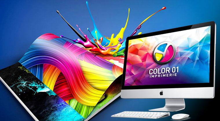 Imprimerie Color 01 à Saint-Rémy dans l'Ain (01) en Rhône-Alpes : l'imprimerie multi-services